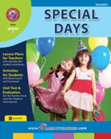 Special Days Gr. 1 - PDF Download  [Download]