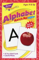 Alphabet Match Me Cards
