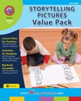 Storytelling Pictures VALUE PACK Gr. K - PDF Download [Download]