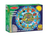 Children Around the World Floor Puzzle, 48 pieces