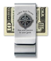 Follow Your Dreams Money Clip