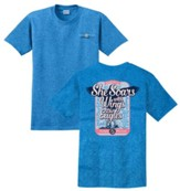 She Soars With Wings Like Eagles Shirt, Blue, X-Large