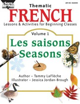 French Lessons and Activities for Beginning Classes, vol. 1 Gr. 3-5 - PDF Download [Download]