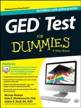 GED Test For Dummies with Online Practice