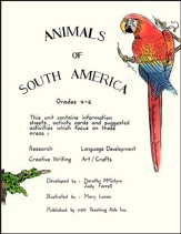 ANIMALS OF SOUTH AMERICA Gr. 4-6 - PDF Download [Download]