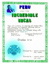 Peru and the Incredible Incas Gr. 4-6 - PDF Download [Download]