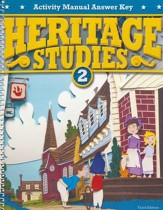Heritage Studies Grade 2 Student Activities Key (3rd Edition)