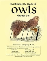 INVESTIGATING THE WORLD OF OWLS Gr. 3-6 - PDF Download [Download]