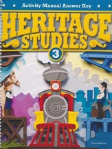 Heritage Studies Grade 3 Student Activities Key (3rd Edition)