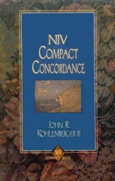 NIV Compact Concordance  - Slightly Imperfect