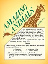 AMAZING ANIMALS Gr. 4-6 - PDF  Download [Download]