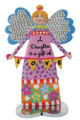 A Daughter Is A Gift Of Love, Angel Figure
