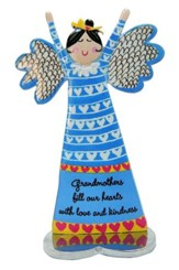 Grandmothers Fill Our Hearts With Love and Kindness, Angel Figure