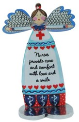 Nurses Provide Care and Comfort With Love and A Smile, Angel Figure