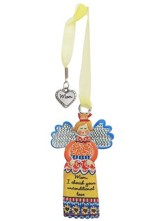 Mom, I Cherish Your Unconditional Love, Angel Ornament