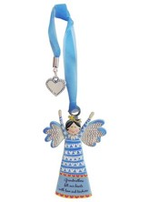 Grandmothers Fill Our Hearts With Love and Kindness, Angel Ornament