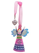 Sisters, Side By Side, Through Thick and Thin, Angel Ornament