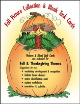 AUTUMN/THANKSGIVING (PICTURE & BLANK TASK CARDS) Gr. K-6 - PDF Download [Download]