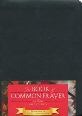 1979 Book of Common Prayer Personal Gift Edition black Imitation Leather