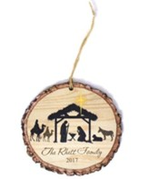 Personalized, Barky Ornament, Nativity Scene