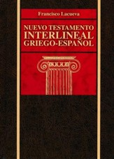 Nuevo Testamento Interlineal Griego-Español, Enc. Dura  (Greek-Spanish Interlinear New Testament, Hardcover)