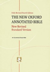 NRSV New Oxford Annotated Bible, 4th Edition  - Slightly Imperfect