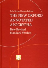 NRSV New Oxford Annotated Apocrypha, 4th Edition  - Slightly Imperfect