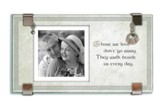 Those We Love Don't Go Away Glass Photo Frame