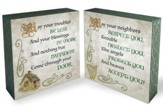 Irish Blessings 2-Sided Plaque