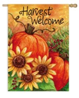 Harvest Welcome, Flag, Large