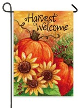 Harvest Welcome, Flag, Small