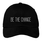 Be the Change Cap, Black