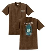 Be A Light, Another Good Day Shirt, Brown, Medium