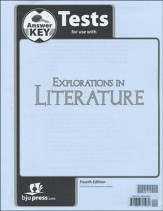 Explorations in Literature (Grade 7) Test Answer Key, 4th Edition