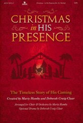 Christmas In His Presence, Choral Book