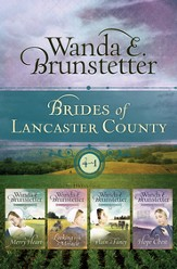 Brides of Lancaster County Series, 4 Volumes in 1