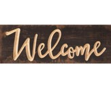 Welcome, Pine Plank Sign