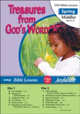 Treasures from God's Word Middler (Grades 3-4) Bible Lesson DVD