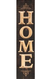 Home, Pine Plank Sign
