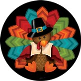 Colorful Turkey Magnet