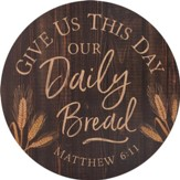 Give Us This Day Our Daily Bread, Barrel Top Art