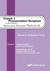 Abeka Nouveaux Chemins French Year 1  Pronunciation/Scripture  Audio CD