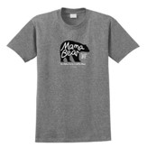 Mama Bear Shirt, Graphite, Medium