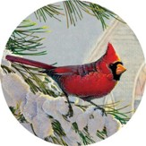 Church Cardinals Magnet