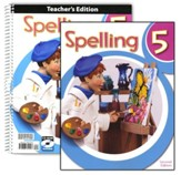 BJU Press Spelling Grade 5 Homeschool Kit (2nd Edition)