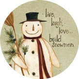 Build Snowmen Magnet