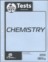 Chemistry Grade 11 Tests Answer Key (4th Edition)