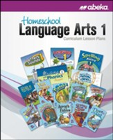 Abeka Homeschool Language Arts 1  Curriculum Lesson Plans  (New Edition)