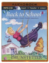 Back to School, Rachel Yoder Series #2,  Unabridged audio book on MP3-CD