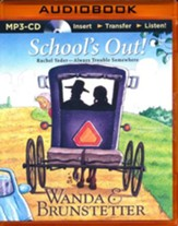 School's Out - Unabridged audio book on MP3-CD